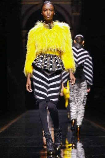 Balmain Fall/Winter 2014 | Paris Fashion Week