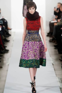 Oscar de la Renta Fall/Winter 2014 | New York Fashion Week