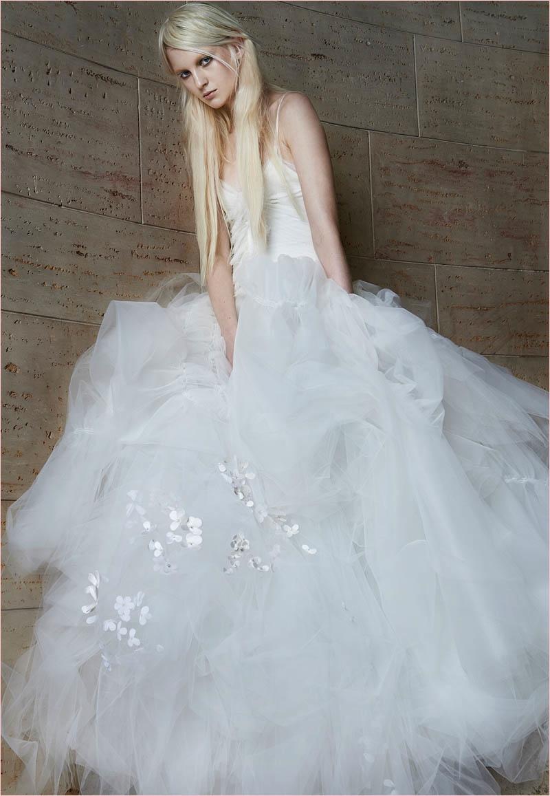 Vera Wang Bridal Spring 2015 Wedding Dresses