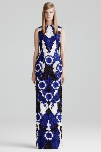 Alexander McQueen Does Leather, Prints & Tailoring for Resort 2015