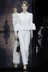 Armani Privé Makes It All About Red, White and Black for Fall Couture