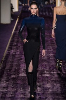 Atelier Versace Does Body Con Haute Couture for Fall 2014 Show