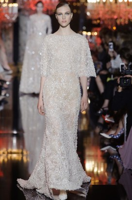 Elie Saabs Fall Couture Collection is an Ode to the City of Light