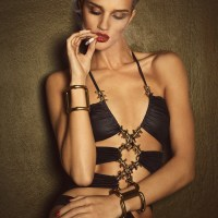 Rosie Huntington-Whiteley Flaunts Her Supermodel Figure for Lui Cover Story
