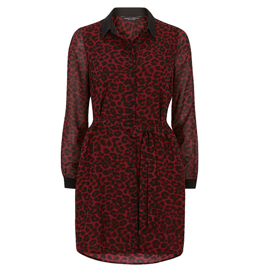 Dorothy Perkins animal shirt dress