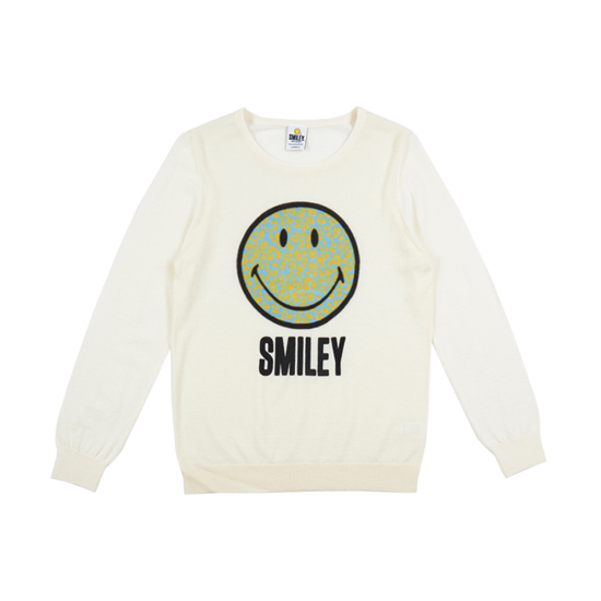 Smiley cashmere sweater