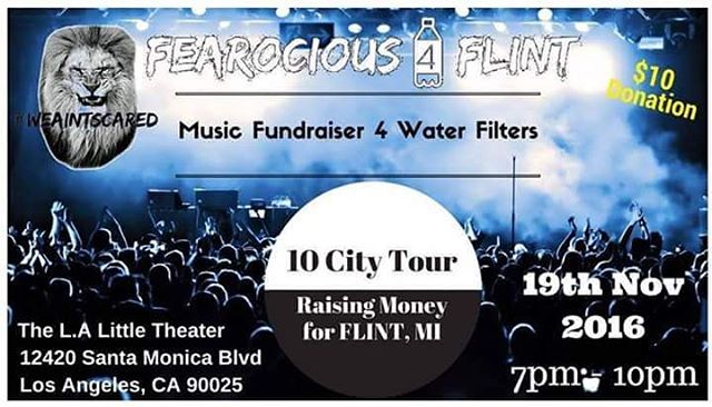 LosAngeles Performers Wanted for Fearocious flint Music Showcase Fundraiser onhellip