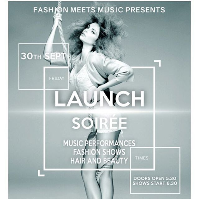 FashionMeetsMusic PopUp Launch Party at TheStables Camden in association withhellip