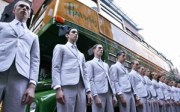 thom browne ss13 old 300x186 What Was THOM BROWNES Point In Showing Identical Clothes On All Models?