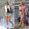 Kate Moss Vacation Style St Tropez