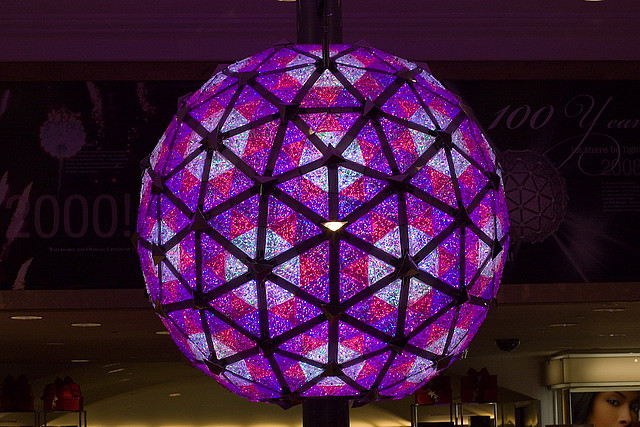 Times Square Ball- New Years Eve in New York City