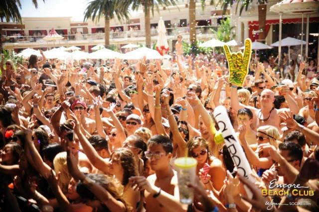 Encore Beach Club Wynn Las Vegas