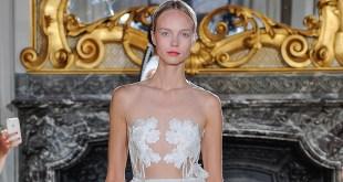 Kaviar Gauche Bridal Couture mit der Kollektion WHITE IRIS