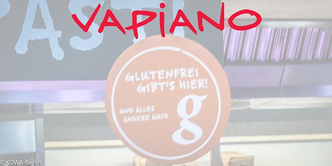 Glutenfrei Pizza und Nudeln essen bei VAPIANO