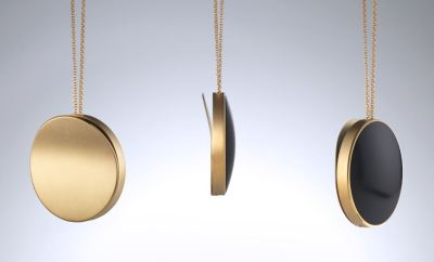 purple by artefact - wearable locket that