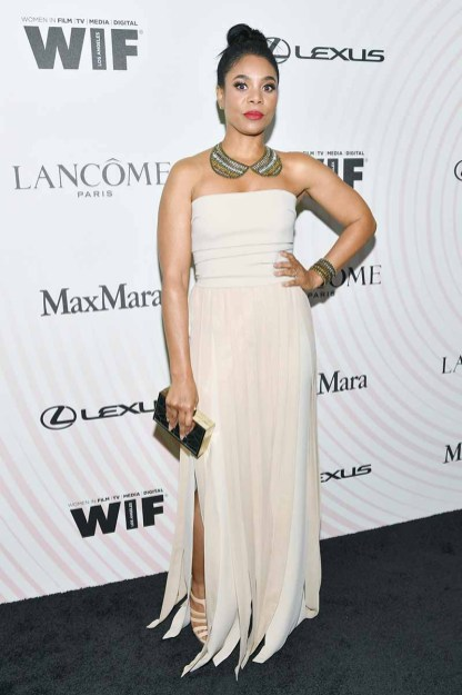 BEVERLY HILLS, CA - JUNE 13: Regina Hall, wearing Max Mara, attends the Women In Film 2018 Crystal + Lucy Awards presented by Max Mara, Lancôme and Lexus at The Beverly Hilton Hotel on June 13, 2018 in Beverly Hills, California. (Photo by Emma McIntyre/Getty Images