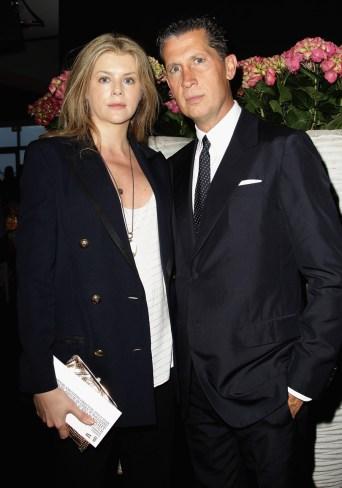 Virginie Mouzat and Stefano Tonchi