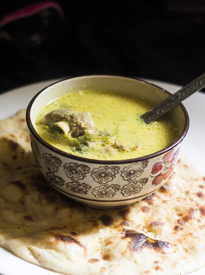 Hyderabadi Marag Recipe is a spicy Mutton Soup dish made with bones of lamb. Served at weddings, this soup is very popular in Hyderabad.