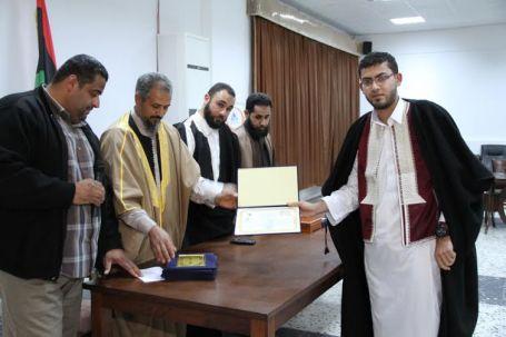 ختام فعاليات امتحانات الإجازة في حفظ القرآن الكريم على مستوى المنطقة الغربية بصبراتة 021