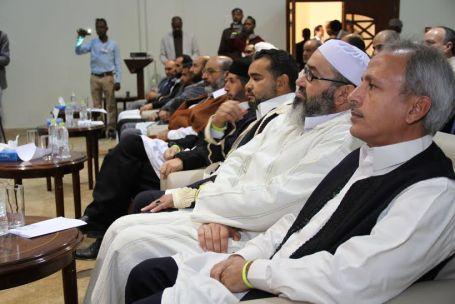 هيئة الأساتذة السودانيين بجامعة الزاوية تحتفل بالذكرى الستين لاستقلال جمهورية السودان بصبراتة 0