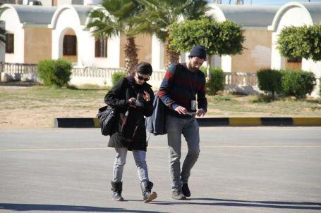 وفد إعلامي أجنبي يزور بلدية صبراتة 1