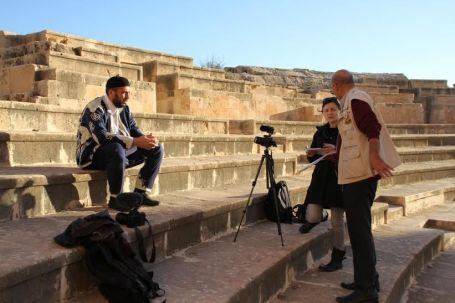 وفد إعلامي أجنبي يزور بلدية صبراتة 9