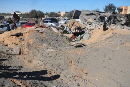 41 قتيلاً و أكثر من 6 جرحى من جنسيات غير ليبية جراء قصف منزل بمنطقة القصر بصبراتة