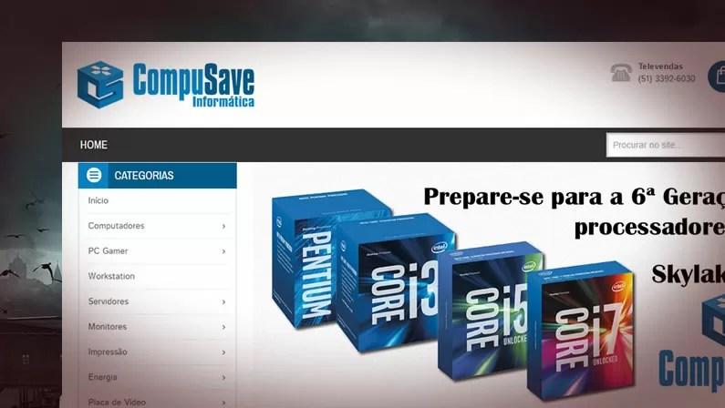 Compusave coloca nova Loja Virtual no ar e investe em marketing de ativação