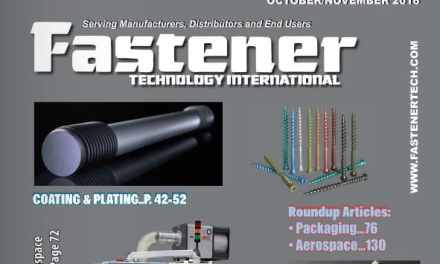 Fastener Technology International, October/November 2016
