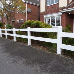 Ranch Style Fence | PVC Fencing | Plastic Fencing | Faster Plastics