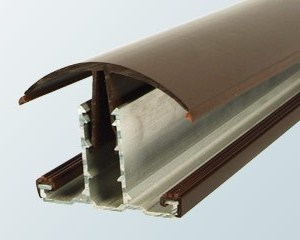 Snap-Down Hip Bar | Timber Glazing Bars | Faster Plastics