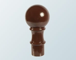 Aluminium Ball Finial | Timber Glazing Bars | Faster Plastics
