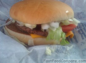 Review of the McDonald's Daily Double Cheeseburger