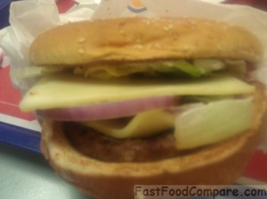 Burger King's Wisconsin White Cheddar Whopper