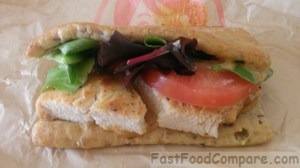 Review of Wendy's Flatbread Grilled Chicken Sandwiches