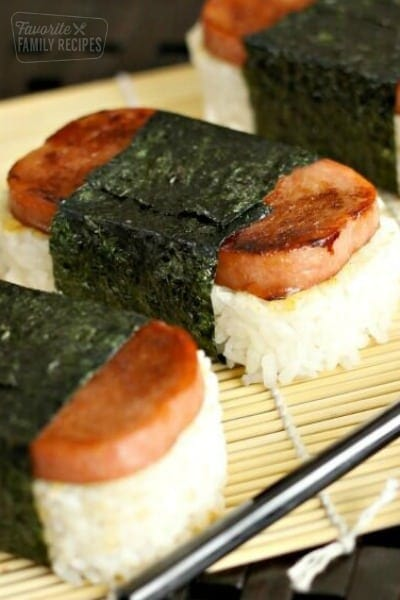 How to Make Authentic Hawaiian Spam Musubi | Favorite Family Recipes