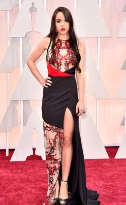 Lorelei Linklater_Gabriela Cadena_Oscars 2015