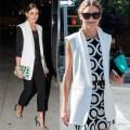 Olivia Palermo Sleevless Jacket Two Ways_Rachel Fawkes San Francisco Fashion Stylist