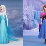 Bonecas 3D do Filme Frozen da Disney!