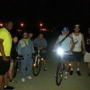 FBC 13 Riders on the Cumberland River bridge