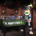 Pat Patriot makes a special appearance during the sixth annual Irish Festival at Patriot Place. - Photo courtesy of Patriot Place