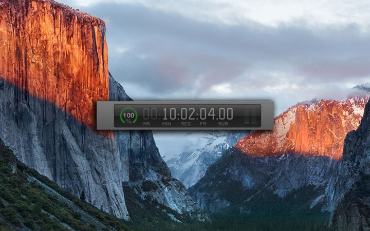 Fixed in FCPX 10.2.3 timecode bug