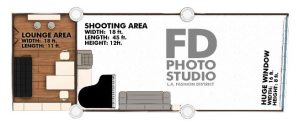 FD Photo Studio Floor Plan