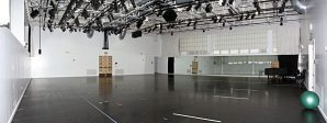 Studios come in different sizes. The point is to decide how much space you would need.