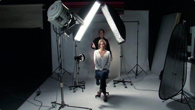 Studio lighting and equipment. Picture courtesy: J Schmelzer