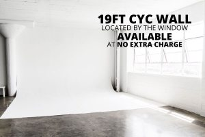 Photo Studio with Cyc wall