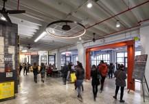 Food court interior