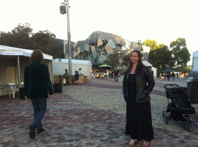 Federation Square - bit different but I liked it!