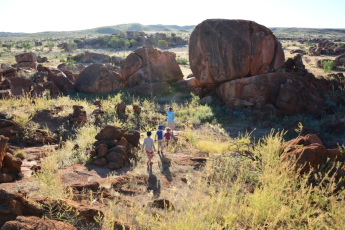 Off to explore the Devils Marbles