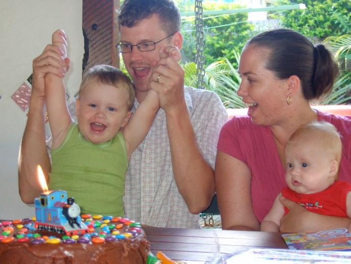 The Fealy Family - Jack's 2nd Birthday